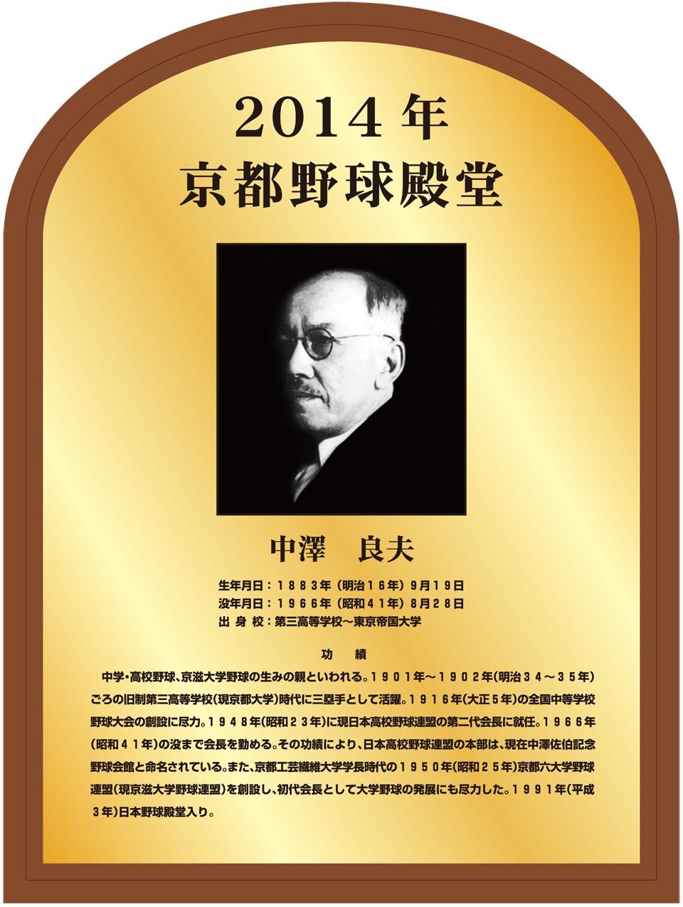 中澤 良夫